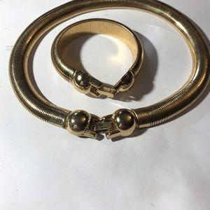 Choker bracelet set